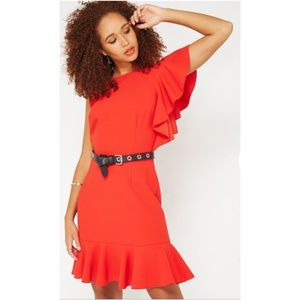 NWT >> Miss Selfridge >> Red Dress >> SZ 6